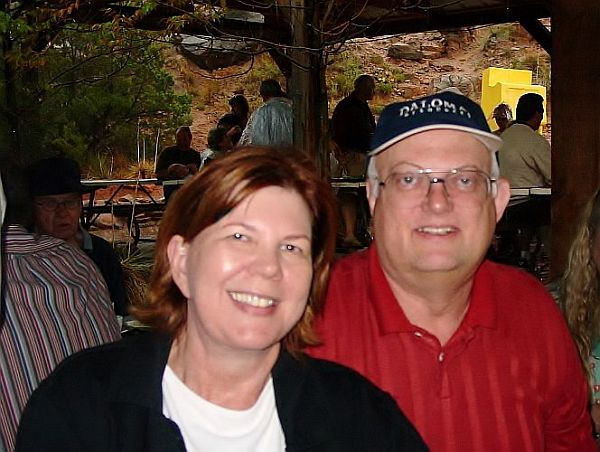 Meg and John Anderson, 2008